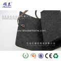 Charcoal color felt pencil bag