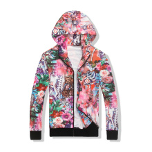 20 Years Factory for Mens Gym Hoodie, Custom Sublimation Hoodie, Zip up Hoodies Wholesale From China Custom sublimation printed colorful hoodie women tracksuit export to Tokelau Factories