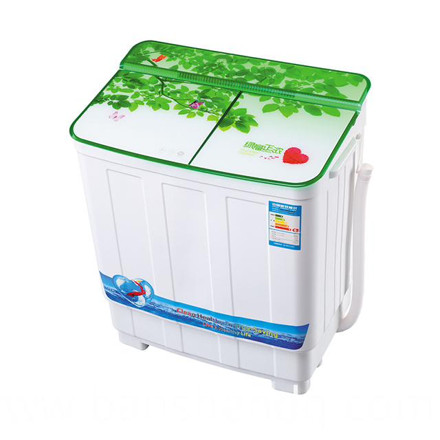 3.8kg twin tub green