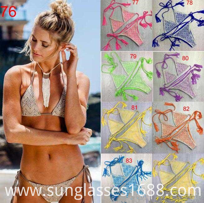 Two Triangular Bikini Swimsuit