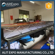 China for Fabric Pop Up Banner Portable metal frame trade show floor display stand export to Japan Supplier
