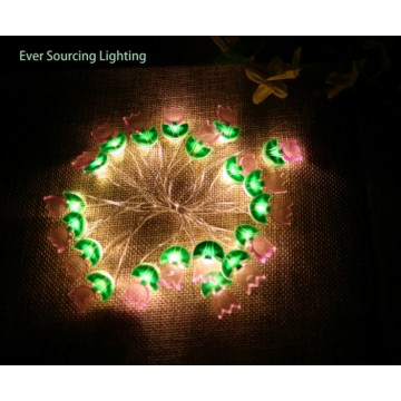 Led Fairy Light com flor