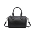 Black Handbags Tote Boston Bags for Ladies