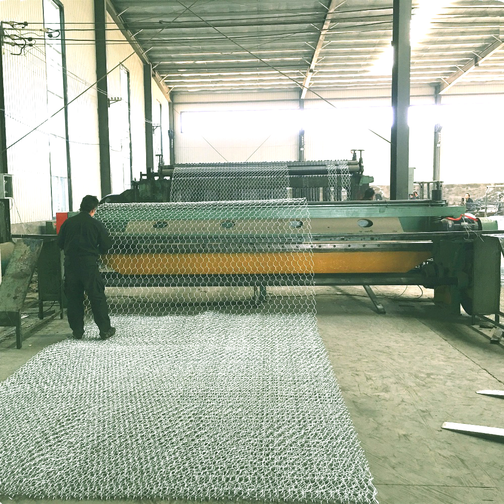 Coated Hexagonal Wire Mesh Gabion