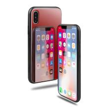 Protective Tempered Glass Back Case For iPhone X