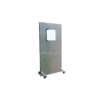 Floor-type small window protective door