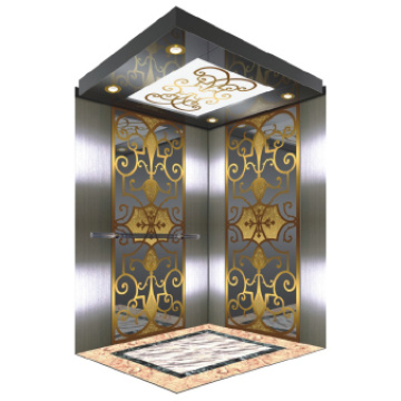 Elevator Decoration With An Image , Car Floor Decoration , NHD-2005-1