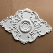 Hot selling attractive for Foam Ceiling Medallions Polyurethane Oval Ceiling Rose export to Italy Importers