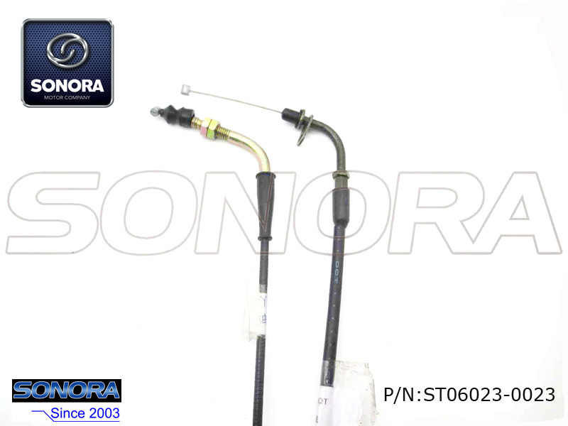 Benzhou Scooter YY50QT Throttle cable assy.