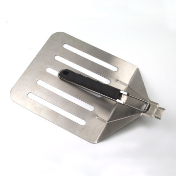 large frying pizza spatula with flexible handle
