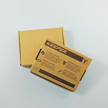 Hot new products pretty brown Corrugated Paper Box