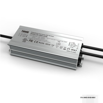 Motorista avaliado do IP Luminaire alto linear da baía 100W