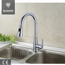 Countertop 1-Handle Pull Down Kitchen Mixer Tap