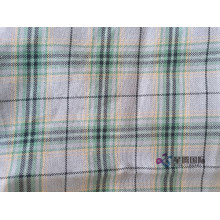 Cotton Yarn Dyed Plain Woven Fabric