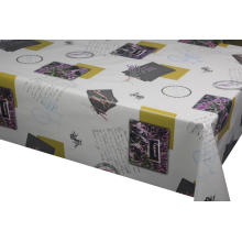 Pvc Printed fitted table covers Runner Pattern Free