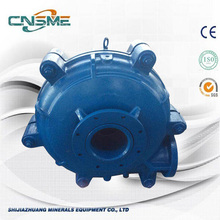 10 Years for Warman Slurry Pump Slag Silt Slurry Pumps supply to Montenegro Manufacturer