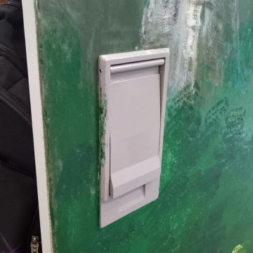 Aluminum Alloy Powder-coated Outdoor Electrical Cabinet Lock
