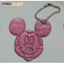 Hi-Vis PVC Sheet Green Mickey Pendant For Children