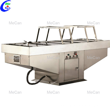 Mortuary supplies stainless steel autopsy table