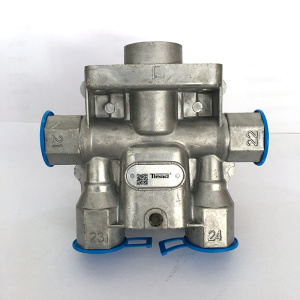 Four Circuit Protection Valve