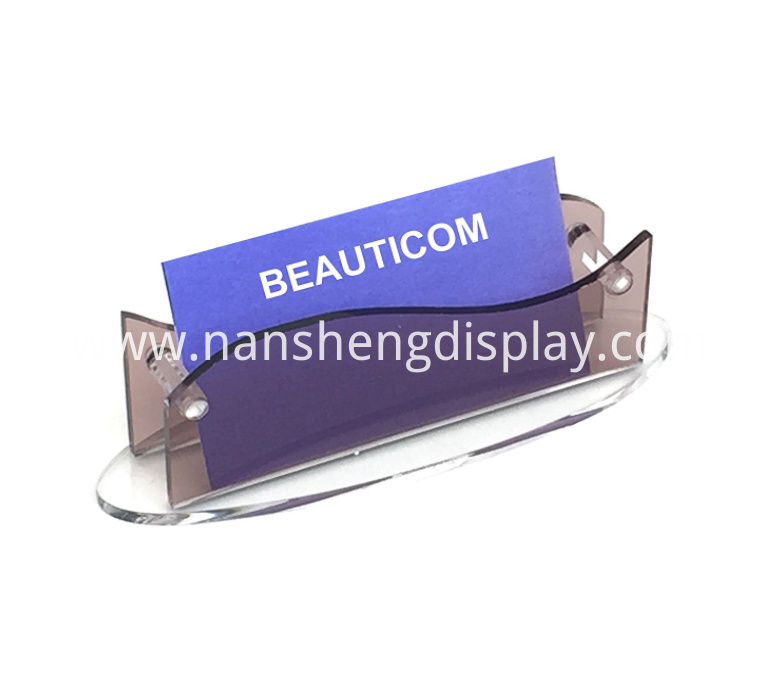 Thick Acrylic Business Card Holder Display
