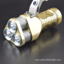 China for Aluminum Led Flashlight rechargeable led light portable led searchlight supply to Liechtenstein Factory