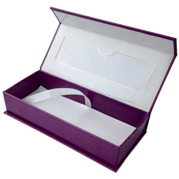 Custom Magnetic Box with Window Eyelashes Box
