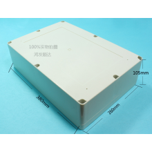 OEM manufacturer custom for Electrical Box Plastic Enclosure For Battery Pack 380mm (ECL380X260H100) supply to Uruguay Exporter