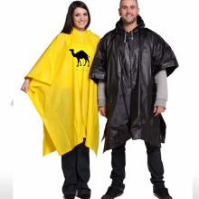 PVC Rain poncho with customized logo printing