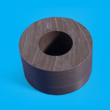 Graphite Filled Natural Color Molding type PTFE Bar