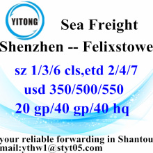 Shenzhen International Ocean Freight to Felixstowe