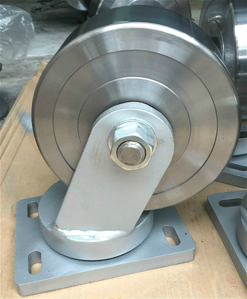 Super Heavy Duty Forged Steel Swivel Caster Wheel