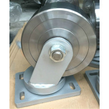 8'' heavy duty Forged steel swivel caster wheel