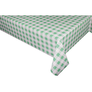 Elegant Tablecloth with Non woven backing Foot Table