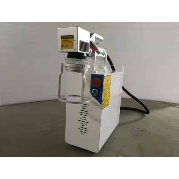 Portable Type 20W/30W/50W/100W Fiber Laser Marking Machine