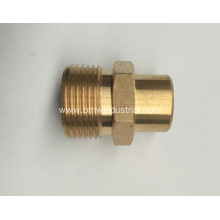 "Pressure Washer Twist Connect M22 X 1/4"" FNPT 4000PSI High Pressure Brass Fitting"
