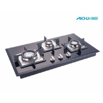 Glen Auto Ignition Glass Hob 3 Burners