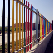 Manufactur standard for Palisade steel fence Details Good Quality Heavy Duty Galvanized Palisade Euro Fence export to France Manufacturer