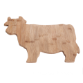 Cow bamboo cutting board