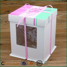 Plain White Cake Boxes With Window