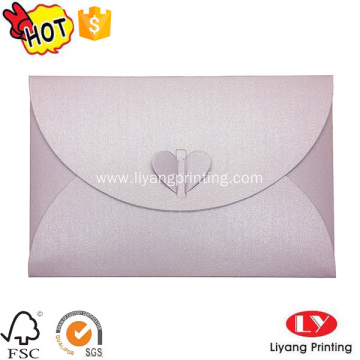 Custom made fancy logo printing paper envelope