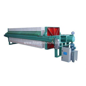 High Pressure Coal Washing Chamber Filter Press
