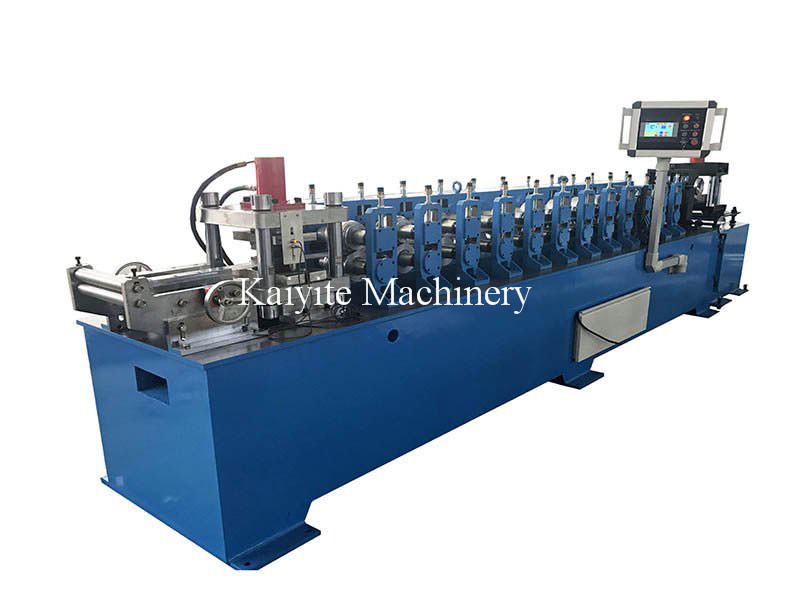 Shutter Door Bottom Rail Roll Forming Machine