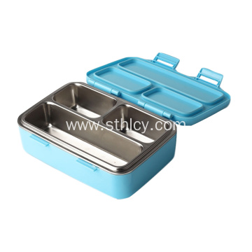 3 Compartment 304 Stainless Steel Leakproof Lunch Box