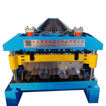 Steel Structure Floor Deck Tile Making Machine