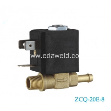 2/2 way brass solenoid valve