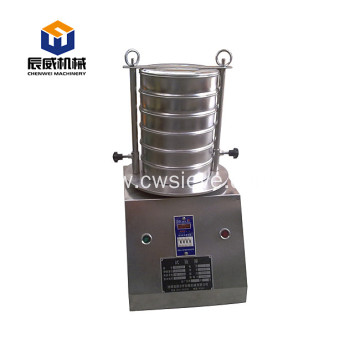 CW-200mm lab test sieve shaker for soil grading