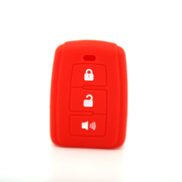High quality rubber Toyota car key shell