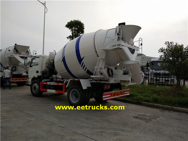 500 Gallon Concrete Mixer Transport Trucks