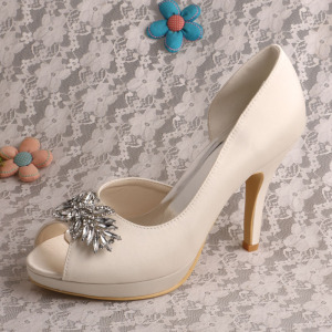 OEM/ODM Supplier for for White Wedding Shoes Wedopus Bridal Wedding Dress Shoes High Heel supply to Germany Wholesale